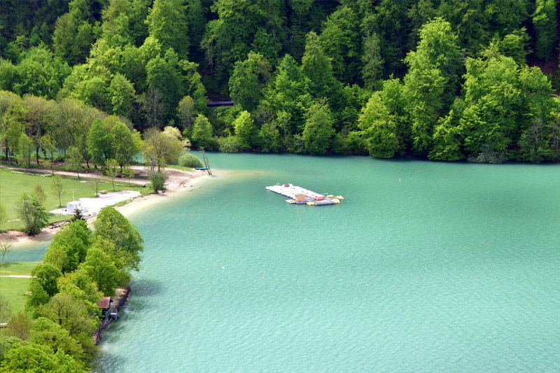 lake chalain Jura