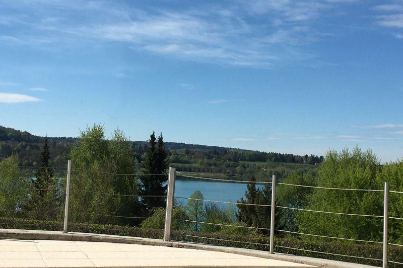 terrasse lac chalain location maison