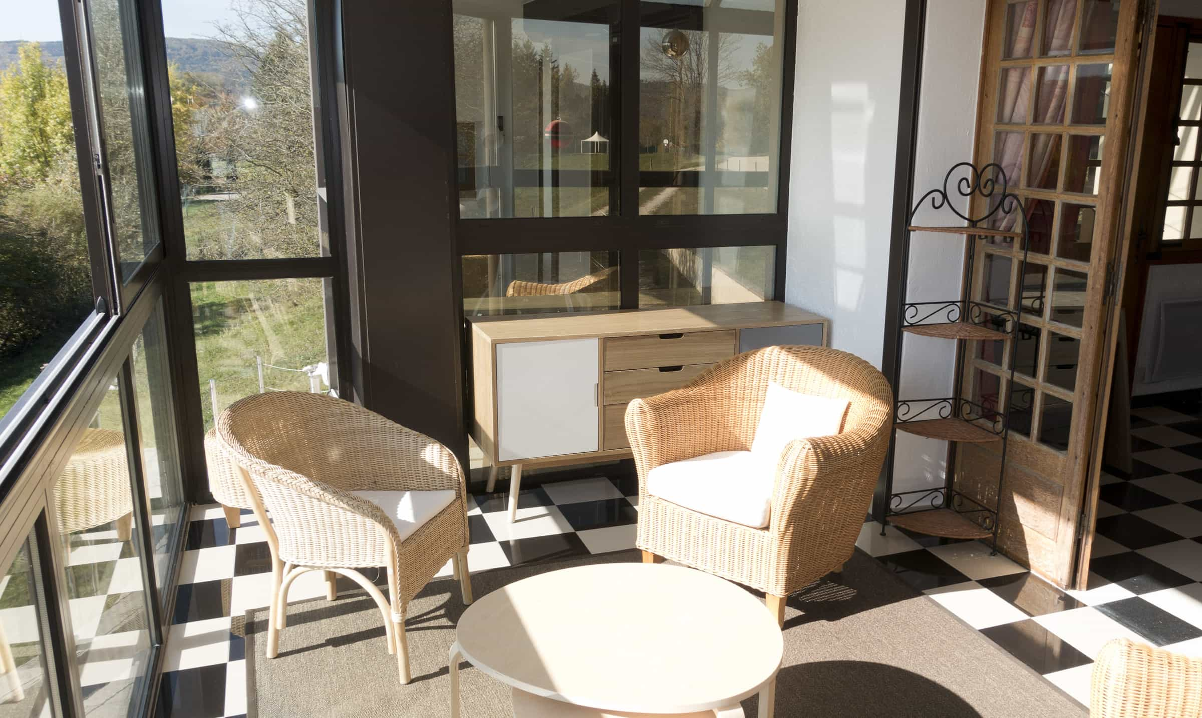 Vakantiehuis met tv kamer lac de Chalain Jura / Chalainrental